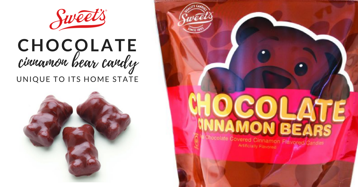 Chocolate Cinnamon Bear Candy