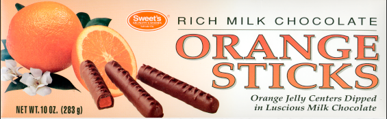 1992 Orange Sticks Packaging