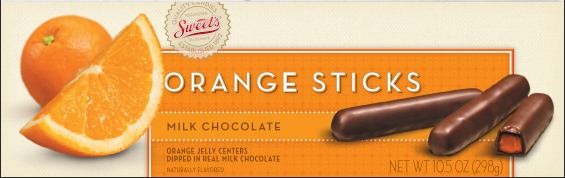 2009 Orange Sticks Packaging