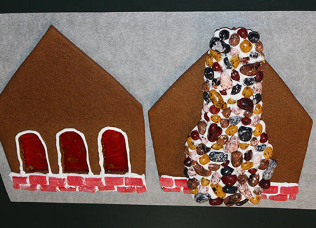 Day 3 Of Gingerbread House