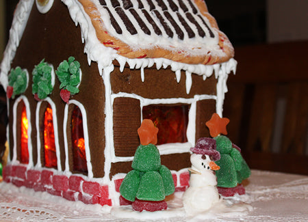 Back Of Gingerbread House