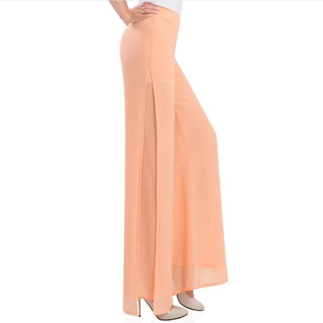 Wide-leg High-Waisted Pant
