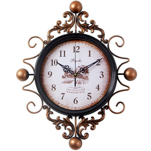 gothic wall hanging clock vintage collection - Bedroom Clock