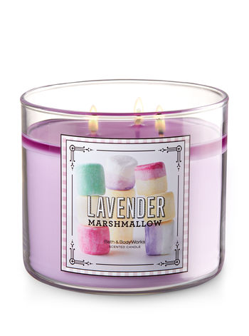 3 Wick Candle - Lavender marshmallow