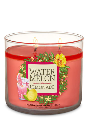 Watermelon Lemonade - 3 Wick Candle