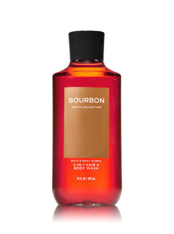 Mens 2 in 1 Body Wash - Bourbon