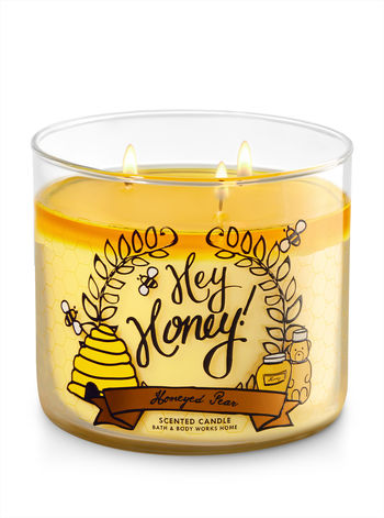 Honeyed Pear 3 Wick Candle