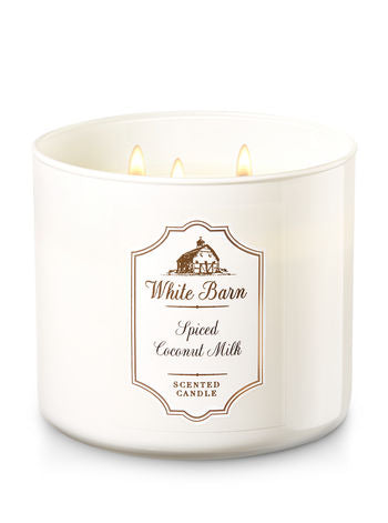 Spiced Coconut Milk 3 Wick Candle