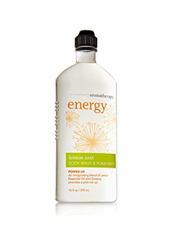Lemon Zest aromatherapy body wash