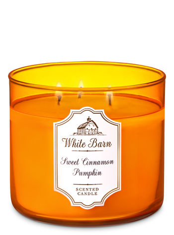 Sweet Cinnamon Pumpkin - 3 Wick Candle