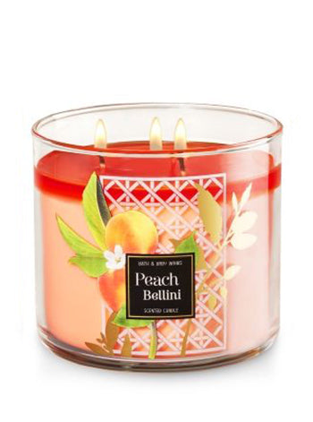 3 Wick Candle - Peach Bellini