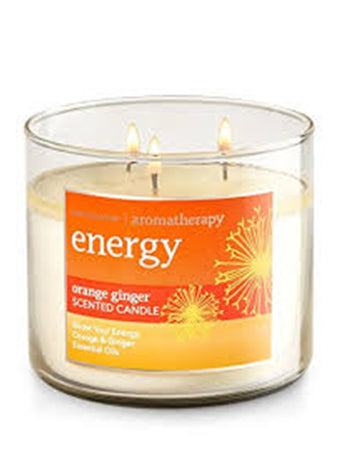Orange Ginger 3 Wick Candle