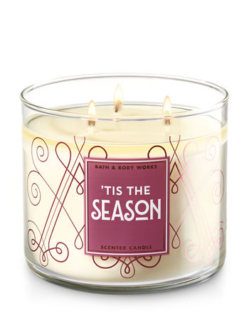 Tis The Season 3 Wick Candle