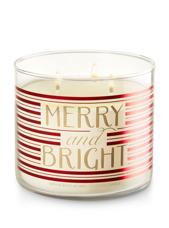 Merry and Bright Limoncello 3 Wick Candle