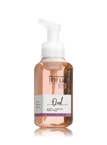 BATH & BODY WORKS TEST LAB BLEND NO. 003 OUD Foaming Hand Soap