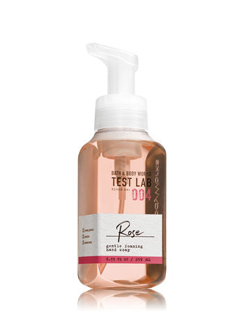 Foaming Hand Soap - BATH & BODY WORKS TEST LAB BLEND NO. 004 ROSE