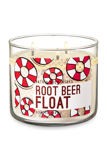 Root Beer Float 3 Wick Candle
