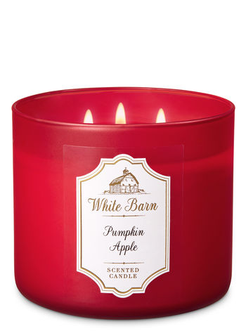 3 Wick Candle - Pumpkin Apple