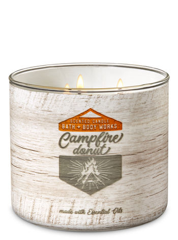 Campfire Donut - 3 Wick Candle