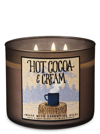 3 Wick Candle - Hot Cocoa & Cream
