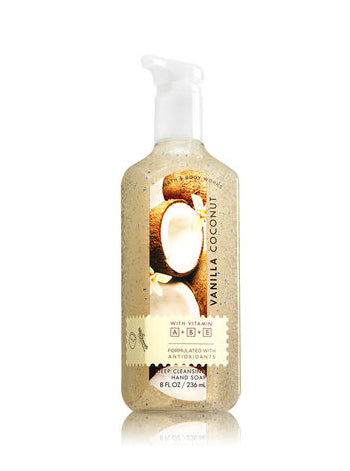 Vanilla Coconut Deep Cleansing Hand Soap