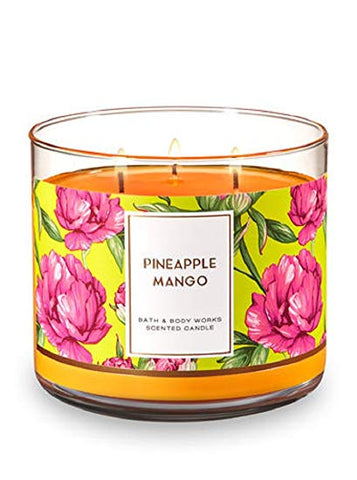 Pineapple Mango 3 Wick Candle