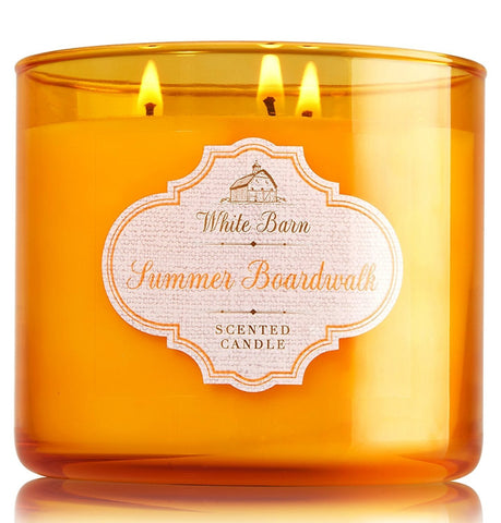 Summer Boardwalk 3 Wick Candle