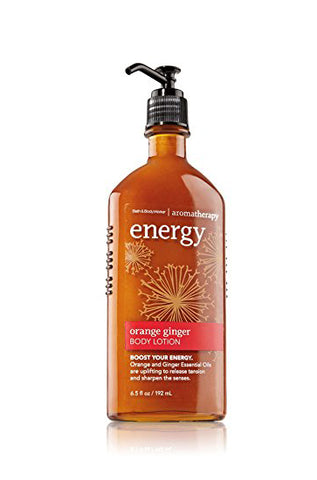 Aromatherapy Body Lotion - Orange Ginger