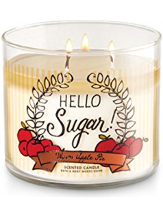 Warm Apple Pie 3 Wick Candle