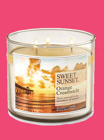 Orange Creamsicle 3 Wick Candle