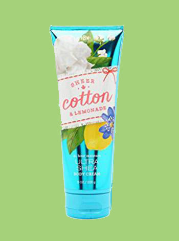 Sheer Cotton & Lemonade Body Cream