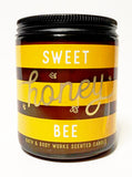 Mason Jar Candle - Sweet Honey Bee