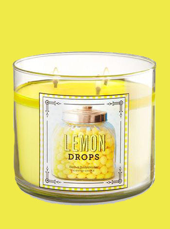Lemon Drops 3 Wick Candle