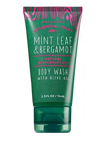 Travel Body Wash - Mint Leafa Bergamot