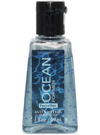 PocketBac Hand Sanitiser Gel - Ocean Men