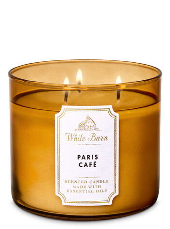 Paris Café Bouquet 3 Wick Candle