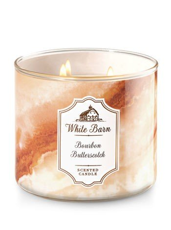 Bourbon Butterscotch 3 Wick Candle