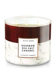 Bourbon Sea Salt Caramel 3 Wick Candle