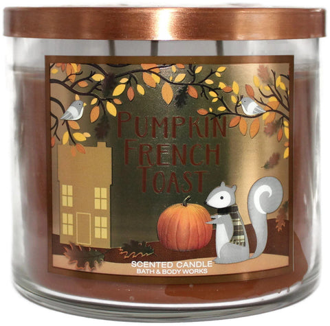 Pumpkin French Toast 3 Wick Candle