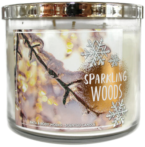 Sparkling Woods 3 Wick Candle