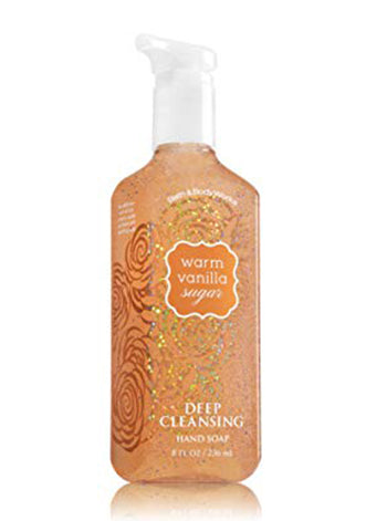 Warm Vanilla Sugar Deep Cleansing Hand Soap