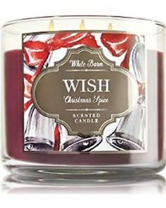 WishChristmas Spice 3 Wick Candle