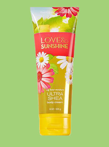 Love and Sunshine Body Cream