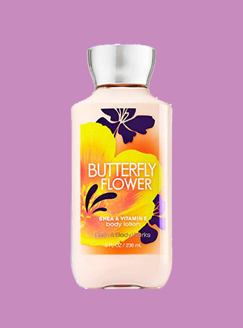 Butterfly Flower Body Lotion