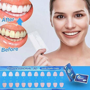 Tand strips 14 paar 3D White Teeth Whitening Strips Advanced Ultra Witte 3D Teeth Whitening Strips