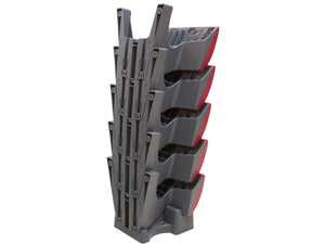 SalatBuddy 5-Pack stacks neatly on the Y-Cradle