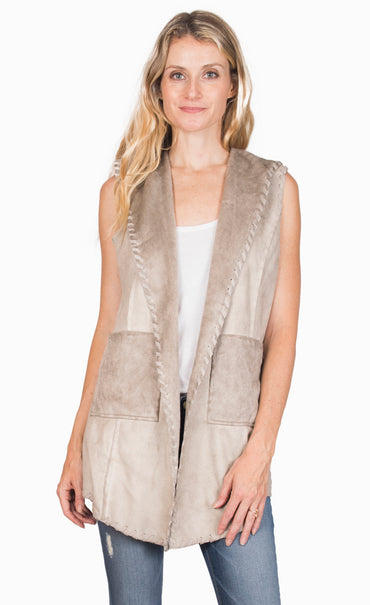 Shear Thing! Hooded Vest