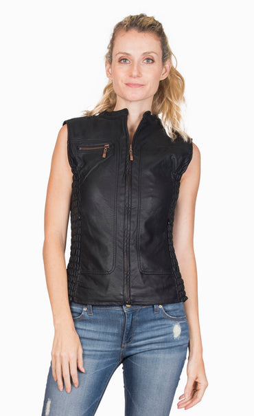 Rule Breaker Ruched Vest