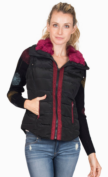 Snowbunny Jacket With Removable Sleeves