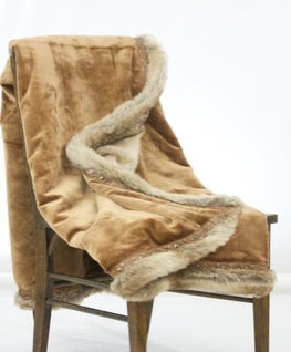 Royal Fur Throw